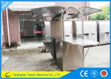 Ys-CF190 Mobiele Karren van het Voedsel van de Box van het Roestvrij staal de Mobiele