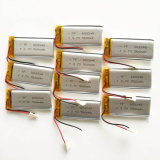 3.7V 560mAh 602248 Lithium Polymer Li-Po Bateria recarregável de iões de lítio para MP3 MP4 MP5 GPS PSP video Game Toys
