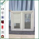 二重窓ガラスの外部の二重ガラスをはめられた家の影響の開き窓のWindows