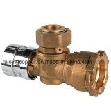Válvula de esfera Lockable do medidor de água