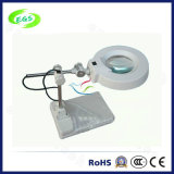 ランプまたは光学クランプ拡大鏡が付いている高さの調節可能な光学高精細度の拡大鏡