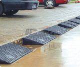 Noir Couleur de sécurité en caoutchouc durable Kerb Ramp