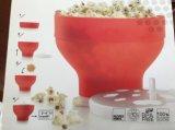 Platin-Silikon-Mikrowelle-Sichere Plastikpopcorn-Behälter-Popcorn-Filterglocke