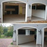N & l причудливый хранение гаража Woodn отделки лака цвета