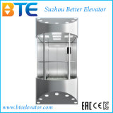 Vvvf Gearless Panoramic Passenger Elevator du fabricant