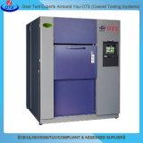 Gabinete de teste quente e frio programável de choque da temperatura da mudança
