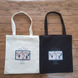 El artículo llano crea el bolso de la lona para requisitos particulares del algodón de la playa