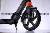 Adults&KidsのPUの車輪が付いているアルミニウム小型フィートの蹴りのスクーター
