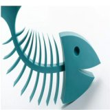 Savon coloré d'os de poissons de Soapbox d'os de poissons de silicones