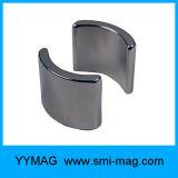 Магнит мотора неодимия формы этапа дуги постоянный с плакировкой никеля