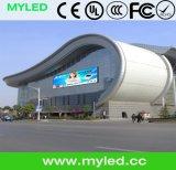 Im Freien Vorderseite P10 geöffneter LED-Bildschirmanzeige-im Freienbekanntmachenvideobildschirm