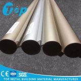 Qualitäts-runde Gefäß-Leitblech-Aluminiumdecke verschobene lineare Decke