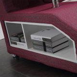 寝室の使用(FB8036B)のための灰色カラーファブリック柔らかいベッド