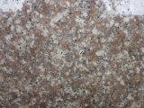 安い花こう岩687の平板のモモの赤の花こう岩