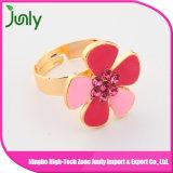 Nuevos anillos de las mujeres del anillo de dedo del oro de las señoras del diseño