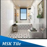 azulejo de cerámica blanco de la pared de la Gran Muralla 300X300