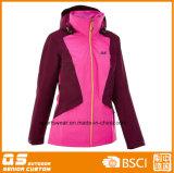 여자의 다채로운 작풍 스키 재킷