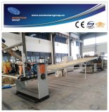 Linea di produzione libera dello strato della gomma piuma del PVC con 10 anni di fabbrica