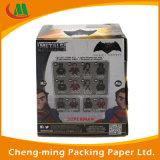 Оптовая напечатанная OEM бумажная коробка подарка с ясным окном PVC