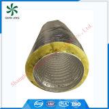 OEM flexible aislado del conducto de la capa doble (aislante de las lanas de cristal)