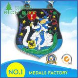高品質の供給が付いている2017のエナメルメダル