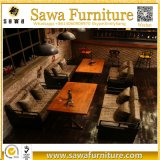 レストランのチェアーテーブルの喫茶店の家具のレストランブース