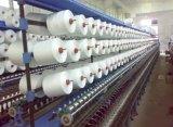 El extremo abierto de China teñió el hilo de algodón de lino reciclado