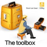 Speciale Toolbox van het Lasapparaat FTTH van de Fusie van de optische Vezel