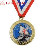 Medalhas do competidor personalizadas do metal do ouro da antiguidade da liga do zinco
