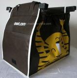 Einkaufen-Lebensmittelgeschäfttote-Beutel-nicht gesponnener Beutel Fernsehapparat-Zupacken-Beutel