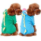 De Kostuums van de Hond van de Dinosaurus van de Winter van de fabriek met Vier Benen