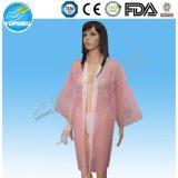 Kimono desechables Batas de baño hechos en China, no tejido Papel Kimono