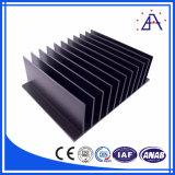Perfil de alumínio da extrusão da indústria do radiador do dissipador de calor