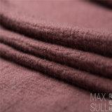 Tela de las lanas de la colada de la máquina del 100% para el otoño en Brown