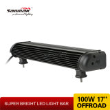 barra clara off-Road do diodo emissor de luz do poder superior 17 do olho de peixes 100W ""