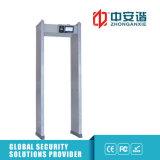 100 niveles de seguridad impermeabilizan el detector de metales con la cubierta impermeable