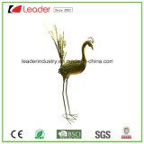 Figurine do pássaro do metal do jardim decorativo para a decoração interna e ao ar livre