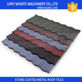 De kleurrijke Steen Met een laag bedekte Tegels van de Dakspanen van het Dak van het Staal van het Zink van het Aluminium