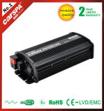 Inversor modificado inteligente 12V 230V 600W da potência de onda do seno