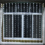Luzes ao ar livre/do casamento decoração da cortina da iluminação do diodo emissor de luz do Natal 2.5*2 360LED da cortina da cachoeira