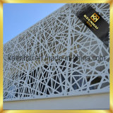 O laser arquitectónico que corta o edifício exterior apainela a parede de cortina de alumínio