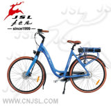Bike батареи лития алюминиевого сплава 700C 36V города голубой электрический