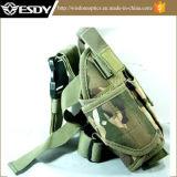 تكتيكيّ قابل للتعديل عسكريّة نيلون قطان ساق مسدّس مدفع مسدّس قراب مسدّس