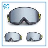 Lunettes interchangeables de neige de ski de marchandises sportives de lentille d'anti regain