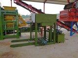 Tijolo Qty8-15 concreto hidráulico que faz a maquinaria