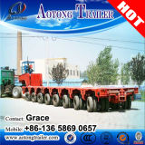100-500ton Hydraulic Steering Multi-Axle Gooseneck Low Bed Modular Trailer (Axis Optional)