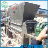 Plastica/pneumatico timpano/della gomma/pellicola/grumi di legno/sacchetti tessuti enormi con la doppia trinciatrice dell'asta cilindrica