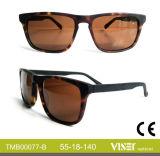 Handgemachtes Sunglass Azetat Sunglass mit hochwertigem (77-A)
