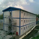 Construction modulaire en acier avec la conformité de la CE
