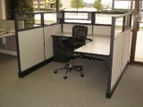 Cubículo moderno de la oficina de madera para muebles de oficina